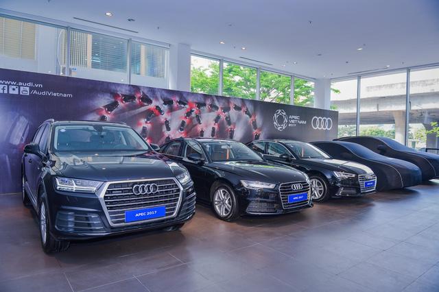 Khám phá dàn xe Audi sản xuất riêng cho APEC 2017 tại Việt Nam - Ảnh 3.