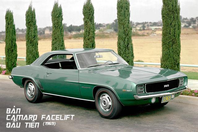 Hành trình hơn 50 năm thăng trầm của Chevrolet Camaro - Ảnh 6.