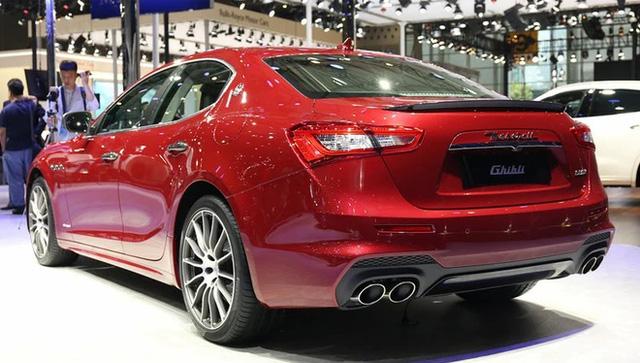 Vén màn sedan hạng sang Maserati Ghibli 2018 với giá từ 3,16 tỷ Đồng - Ảnh 5.
