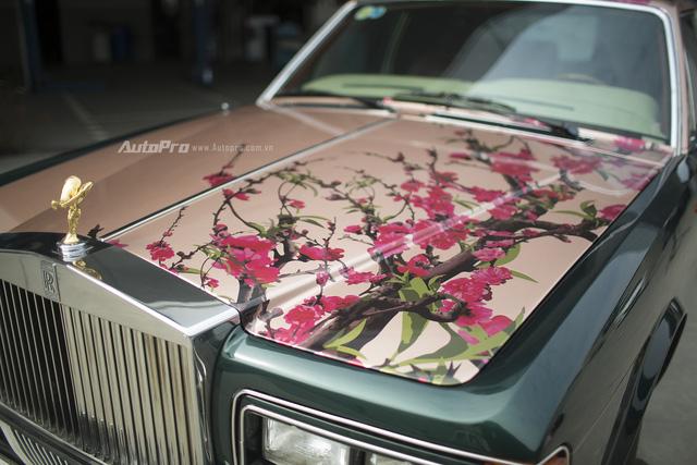 Hàng độc Rolls-Royce Silver Spirit thay áo mới đón Tết - Ảnh 3.