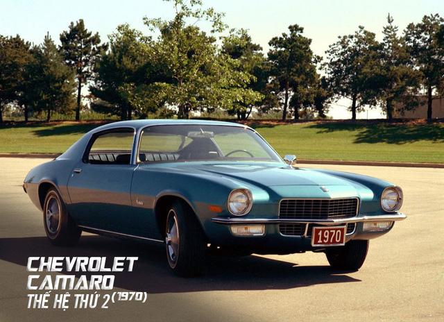 Hành trình hơn 50 năm thăng trầm của Chevrolet Camaro - Ảnh 8.