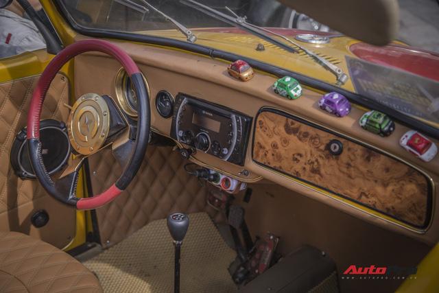 Chiêm ngưỡng dàn bọ già Volkswagen Beetle đủ sắc màu tại Hà Nội - Ảnh 8.
