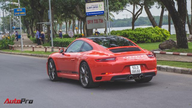 Cường Đô la cùng dàn Porsche sắc màu tụ tập tại Sài Gòn - Ảnh 1.