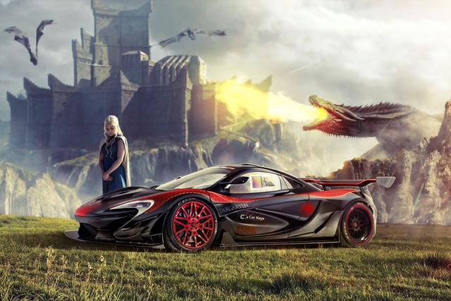 Các nhân vật trong Game of Thrones sẽ lái siêu xe nào? - Ảnh 2.