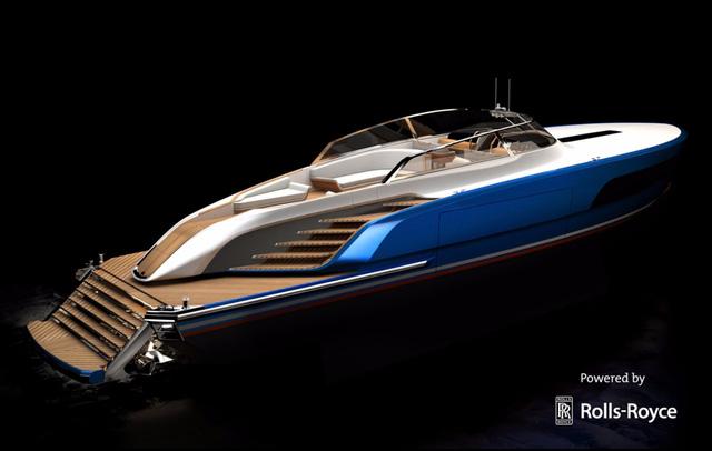 Diện kiến du thuyền sử dụng động cơ của Rolls-Royce - Ảnh 1.