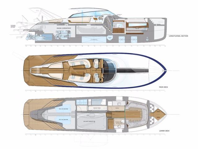 Diện kiến du thuyền sử dụng động cơ của Rolls-Royce - Ảnh 7.