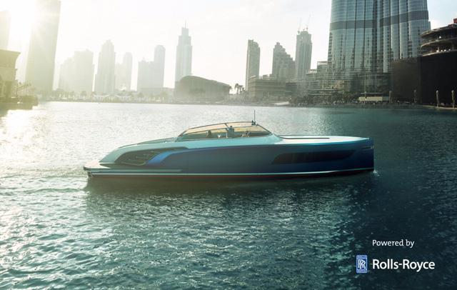 Diện kiến du thuyền sử dụng động cơ của Rolls-Royce - Ảnh 4.