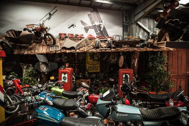 Mãn nhãn với bộ sưu tập xe máy cực khủng - Ảnh 4.
