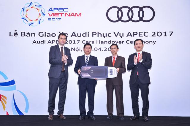 Khám phá dàn xe Audi sản xuất riêng cho APEC 2017 tại Việt Nam - Ảnh 4.