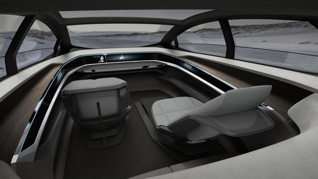 Audi Aicon chỉ thiếu phòng tắm để trở thành máy bay Boeing 747 trên mặt đất - Ảnh 2.