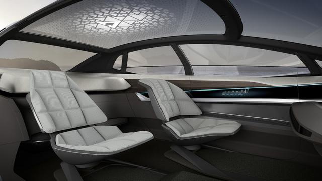 Audi Aicon chỉ thiếu phòng tắm để trở thành máy bay Boeing 747 trên mặt đất - Ảnh 3.