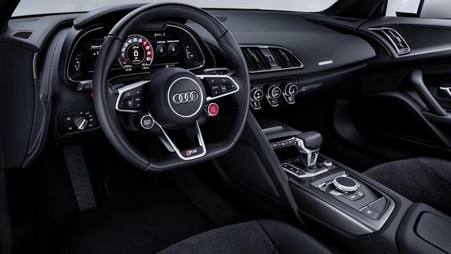 Audi giới thiệu siêu xe R8 V10 phiên bản dẫn động cầu sau, giá từ 3,8 tỷ Đồng - Ảnh 10.