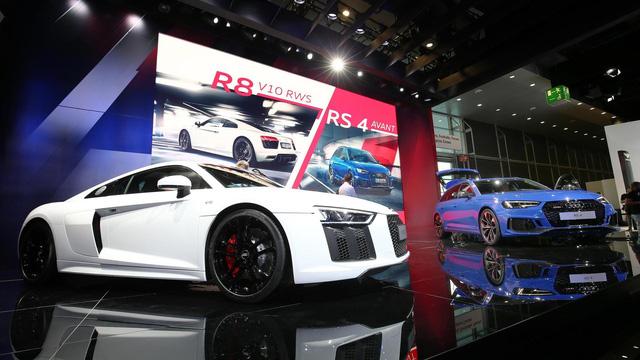 Audi giới thiệu siêu xe R8 V10 phiên bản dẫn động cầu sau, giá từ 3,8 tỷ Đồng - Ảnh 2.