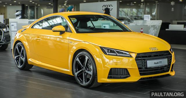 Audi TT 2.0 Black Edition 2018 có giá 77.858 USD tại Malaysia - Ảnh 1.