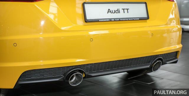 Audi TT 2.0 Black Edition 2018 có giá 77.858 USD tại Malaysia - Ảnh 19.