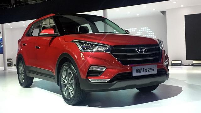Crossover cỡ nhỏ Hyundai ix25 2017 trình làng với giá tốt