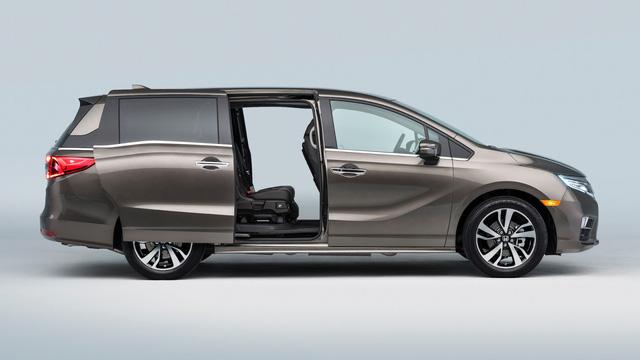 Honda Odyssey 2018 với thiết kế khác xe ở Việt Nam chính thức được vén màn - Ảnh 22.