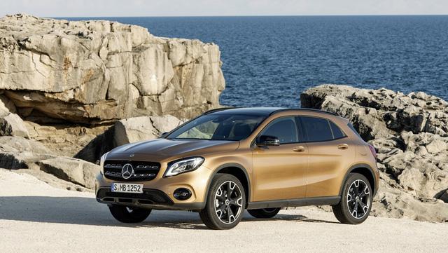 Crossover hạng sang Mercedes-Benz GLA 2018 trình làng - Ảnh 1.