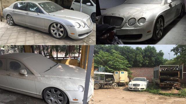 Xe nhà giàu Bentley Continental Flying Spur bị bắt gặp trong tình cảnh thảm thương tại Hà Nội - Ảnh 4.