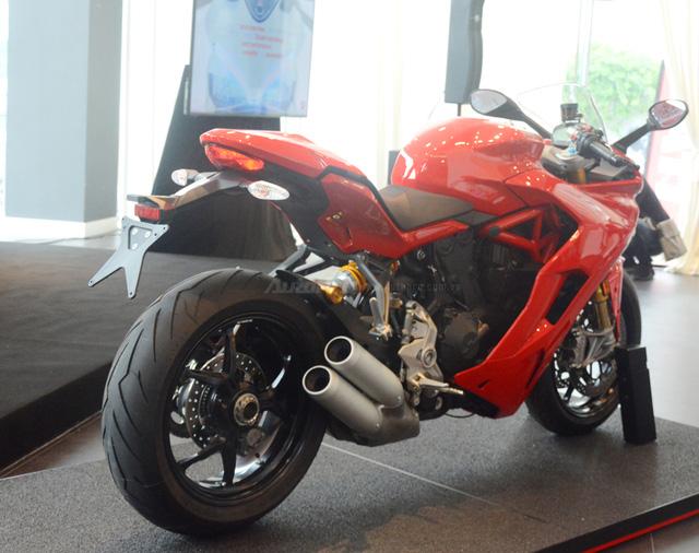 Cận cảnh Ducati SuperSport 2017 phiên bản S có giá 571 triệu Đồng - Ảnh 11.