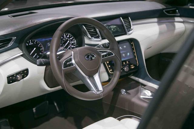 Infiniti QX50 Concept - SUV hạng sang cạnh tranh với Porsche Macan - Ảnh 9.