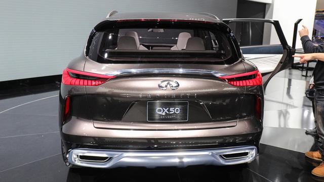 Infiniti QX50 Concept - SUV hạng sang cạnh tranh với Porsche Macan - Ảnh 6.