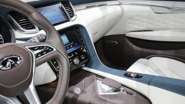 Infiniti QX50 Concept - SUV hạng sang cạnh tranh với Porsche Macan - Ảnh 10.