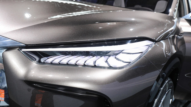 Infiniti QX50 Concept - SUV hạng sang cạnh tranh với Porsche Macan - Ảnh 5.