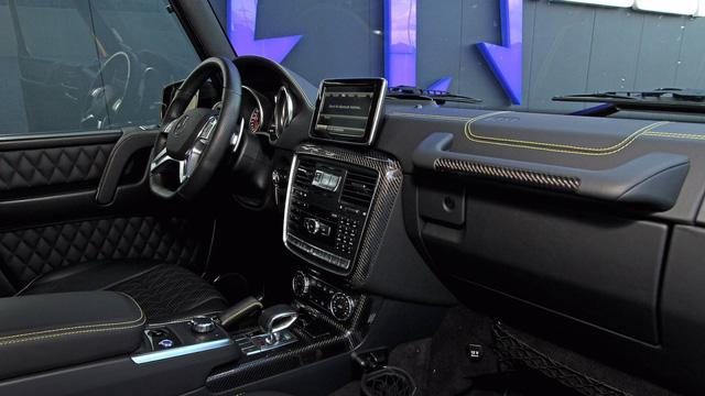 Nhà độ Đức bơm thêm 306 mã lực cho ông vua địa hình Mercedes-Benz G63 AMG - Ảnh 11.