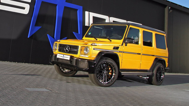 Nhà độ Đức bơm thêm 306 mã lực cho ông vua địa hình Mercedes-Benz G63 AMG - Ảnh 2.