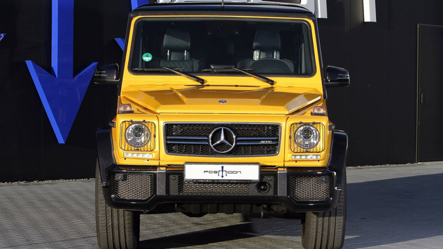 Nhà độ Đức bơm thêm 306 mã lực cho ông vua địa hình Mercedes-Benz G63 AMG - Ảnh 1.