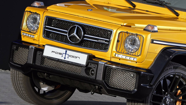 Nhà độ Đức bơm thêm 306 mã lực cho ông vua địa hình Mercedes-Benz G63 AMG - Ảnh 8.