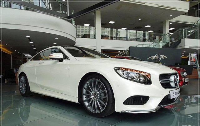 Mercedes-Benz S400 4Matic Coupe đầu tiên cập bến Việt Nam, giá 6,1 tỷ Đồng - Ảnh 3.