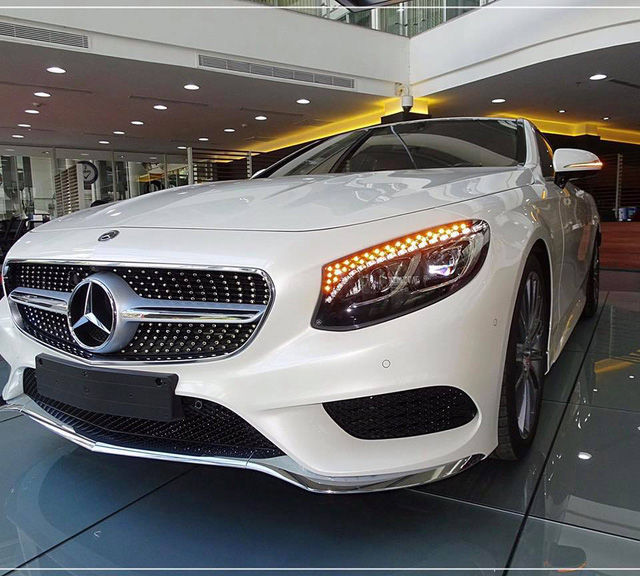 Mercedes-Benz S400 4Matic Coupe đầu tiên cập bến Việt Nam, giá 6,1 tỷ Đồng - Ảnh 4.