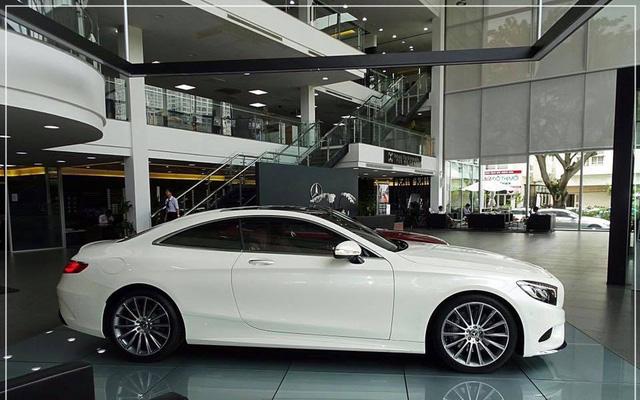 Mercedes-Benz S400 4Matic Coupe đầu tiên cập bến Việt Nam, giá 6,1 tỷ Đồng - Ảnh 8.