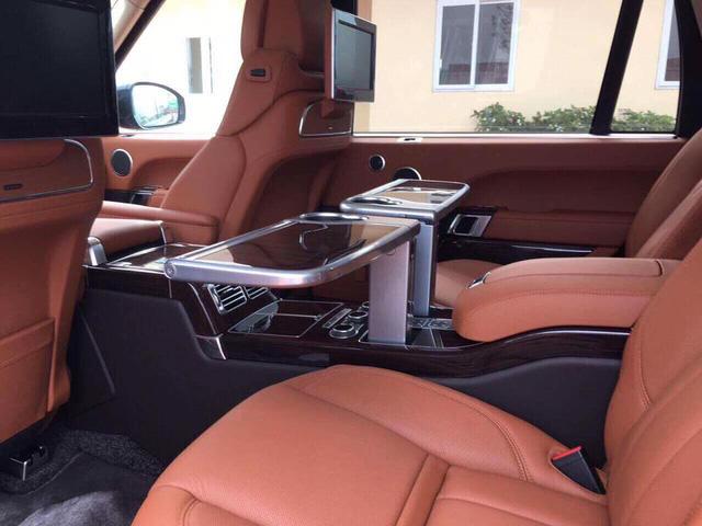 Range Rover SVAutobiography Hybrid đầu tiên được đưa về nước - Ảnh 12.