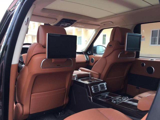 Range Rover SVAutobiography Hybrid đầu tiên được đưa về nước - Ảnh 11.