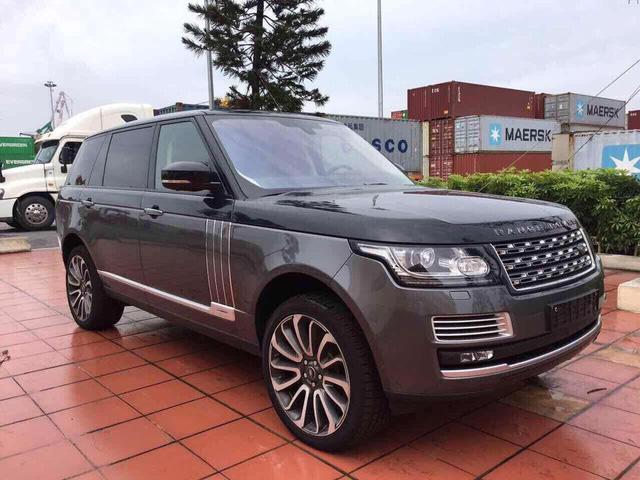 Range Rover SVAutobiography Hybrid đầu tiên được đưa về nước - Ảnh 8.