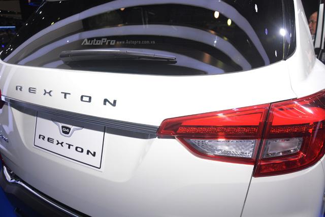 SsangYong G4 Rexton 2018 có gì hot để cạnh tranh cùng Toyota Fortuner - Ảnh 16.