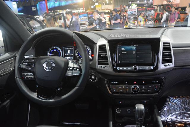 SsangYong G4 Rexton 2018 có gì hot để cạnh tranh cùng Toyota Fortuner - Ảnh 10.