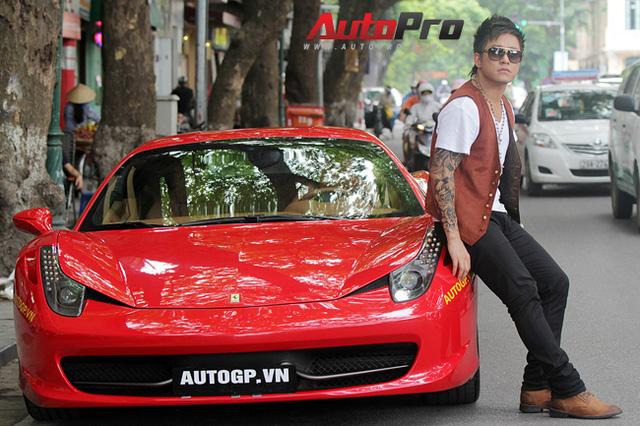 Siêu xe Ferrari 488 GTB bị bắt gặp đang trên đường vận chuyển ra Hà Nội cho ca sĩ Tuấn Hưng - Ảnh 6.