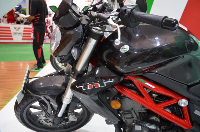 Benelli TNT 300 bản trang bị phanh ABS ra mắt với giá 115 triệu Đồng - Ảnh 1.