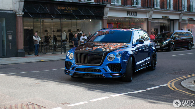 Vẻ đẹp SUV siêu sang Bentley Bentayga độ Mansory trên phố London - Ảnh 1.