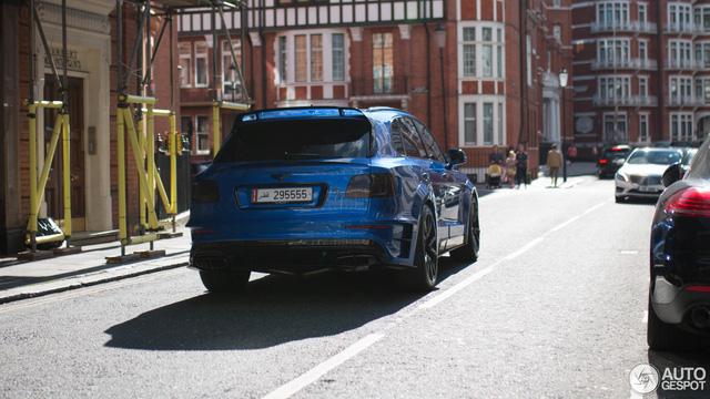 Vẻ đẹp SUV siêu sang Bentley Bentayga độ Mansory trên phố London - Ảnh 3.