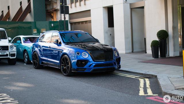 Vẻ đẹp SUV siêu sang Bentley Bentayga độ Mansory trên phố London - Ảnh 2.