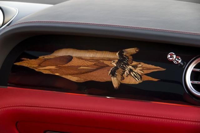 Nhà giàu Trung Đông mua hẳn Bentley Bentayga phiên bản giới hạn phục vụ thú... chơi chim - Ảnh 10.