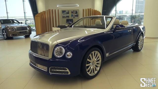 Bentley Mulsanne Grand Convertible thế hệ mới giá 3,5 triệu USD - Ảnh 2.
