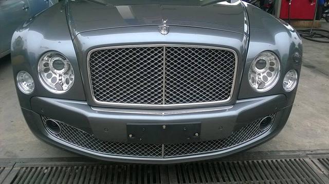 Bentley Mulsanne độ mâm khủng tại Hà thành - Ảnh 5.