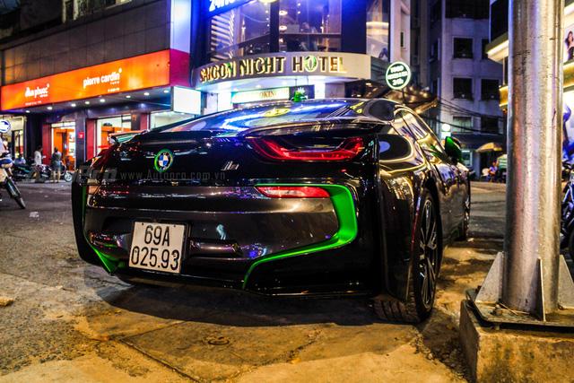 BMW i8 của thiếu gia Cà Mau xuất hiện tại Sài thành - Ảnh 7.