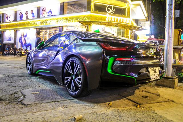 BMW i8 của thiếu gia Cà Mau xuất hiện tại Sài thành - Ảnh 12.